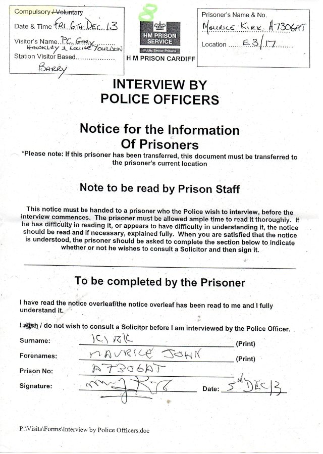 PRISON POLICEI IVEW688
