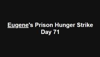 Eugene Lukjanenko: Hunger strike ends, preparing for RCJ Appeal - 08 March '18 + archive