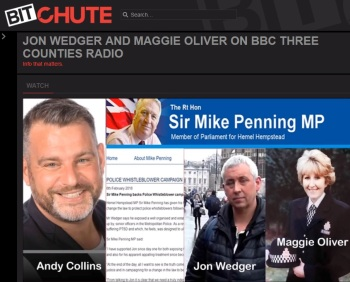 Whistleblower / former officer John Wedger, Maggie Oliver:  police failings on child abuse + coverups AUDIO 01 March 2018